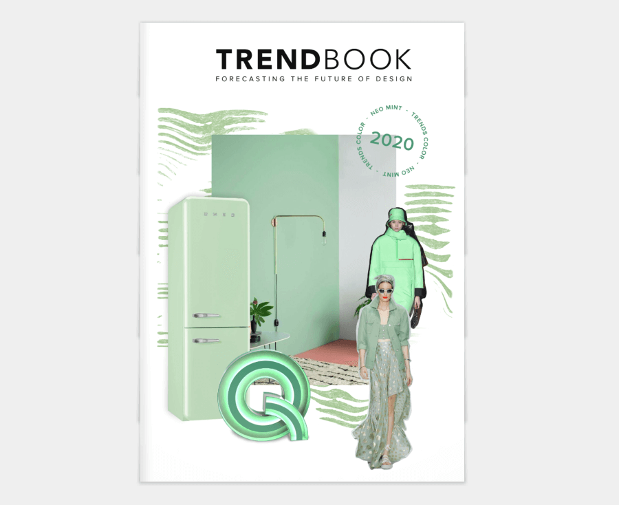 Trend Book 2020: Color NEO Mint